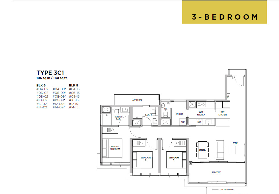 Dairy Farm Residences Floor Plans Dairy Farm Residences Condo Official Site Mix Development By Ued Residential